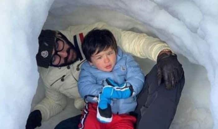 Taimur Ali Khan's Pictures From Switzerland With Saif Ali Khan-Kareena Kapoor Khan Are Winter Holiday Goals, Check Posts
