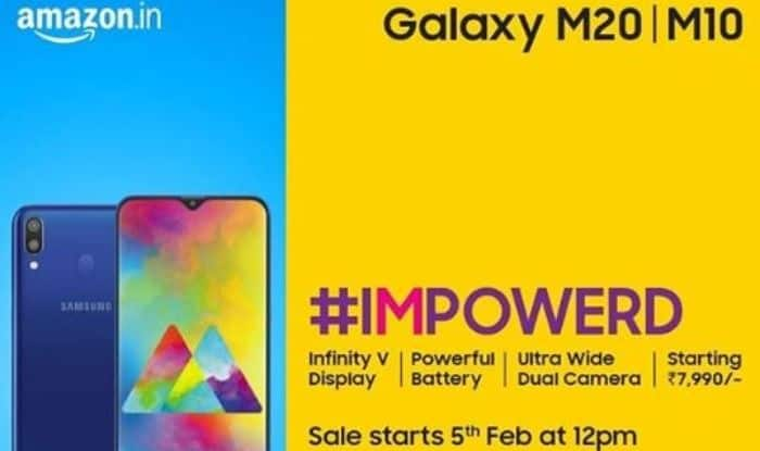 Samsung Launches Budget Phones Galaxy M20 And M10 in India, to be Available on Amazon India From February 5