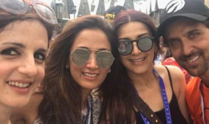 Sonali Bendre, Hrithik Roshan, Sussanne Khan