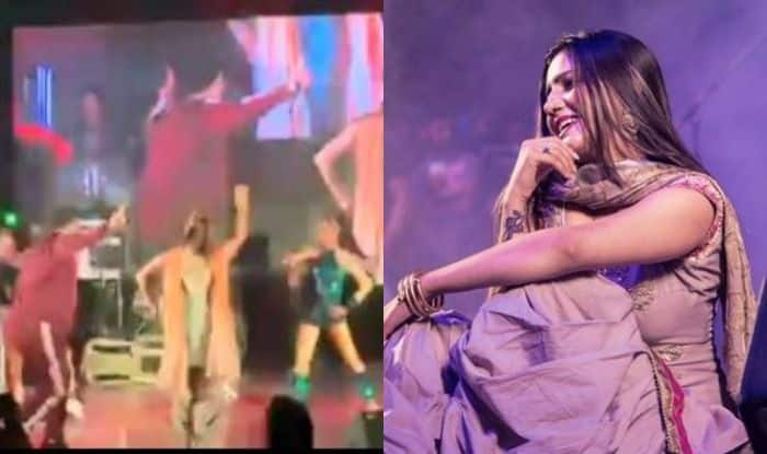 Haryanvi Bombshell Sapna Choudhary Flaunts Her Sexy Thumkas on a Bollywood Song as She Shares Stage With Punjabi Singer Deep Money, Watch