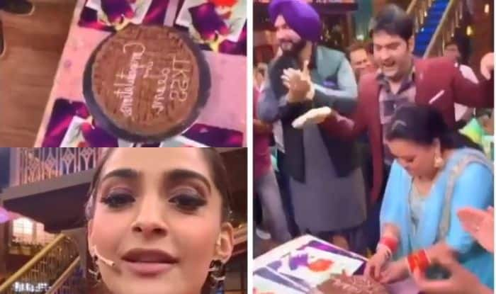 The Kapil Sharma Show Performs Well on TRP Charts, Sonam Kapoor And Anil Kapoor Celebrate With Team
