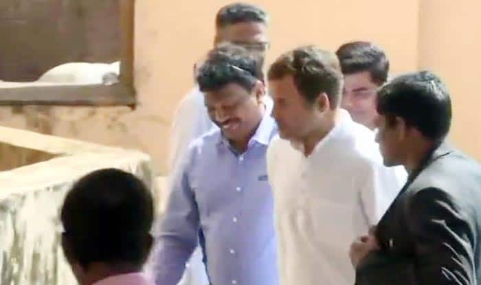 Rafale Tweet Notwithstanding, Rahul Visits Goa CM Manohar Parrikar