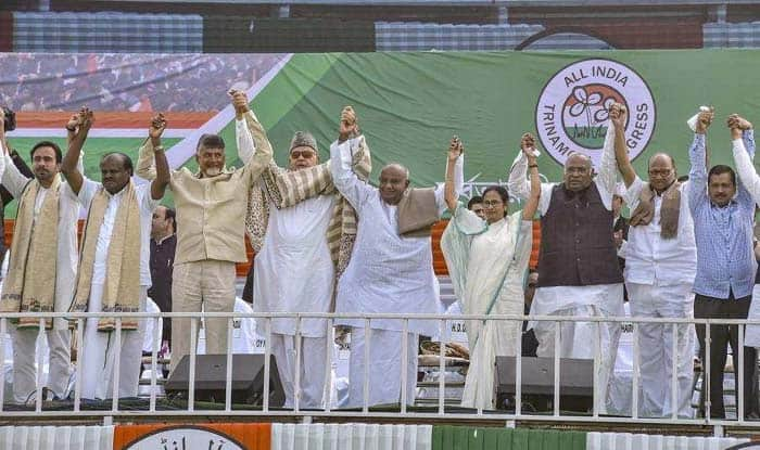 Opposition Displays 'Show of Unity' in TMC-led Mega Kolkata Rally But PM Face Remains Contentious Issue Among Anti-BJP Parties