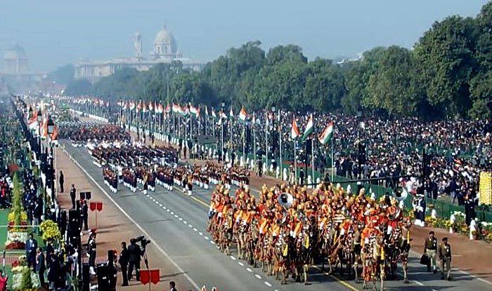 Republic Day Parade: Woman Power on Display as Lt Bhavana Kasturi Leads Army Service Corps, Maj Khushboo Kanwar Leads Assam Rifles, Capt Shikha Surabhi Part of Daredevils, Lt Ambika Sudhakaran Leads Navy Contingent And Capt Bhavna Syal Fronts Corps of Signal Unit