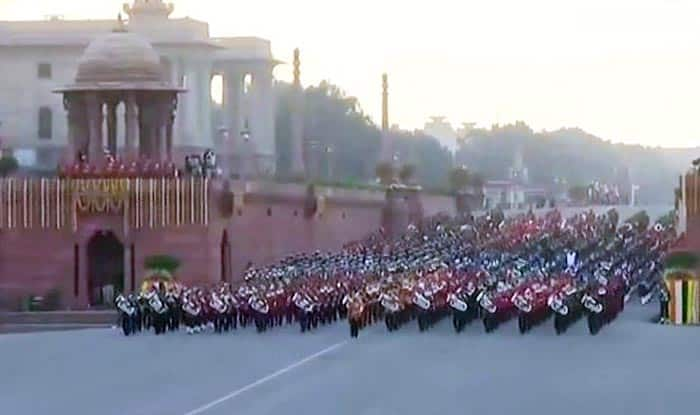 Beating Retreat ceremony