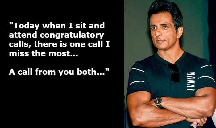 Sonu Sood Writes to His Late Parents After Simmba's Success, Says 'Everything Feels Incomplete Without You'