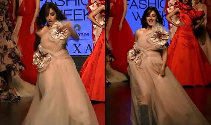 Yami Gautam Trips on Ramp at Lakme Fashion Week 2019, Gets Applauded For Finishing Walk With Confidence-Watch Viral Video