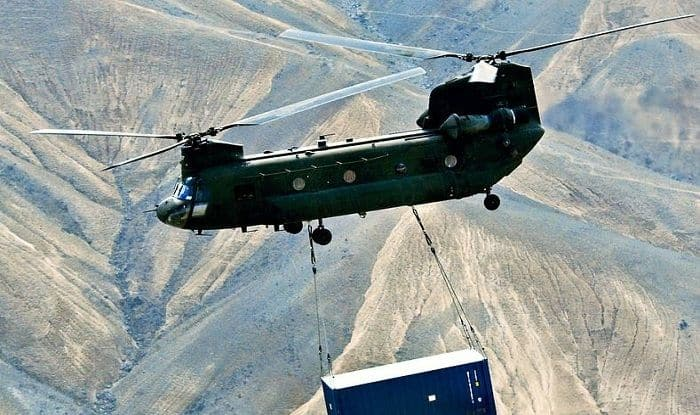 India Takes Possession of First US-built Chinook Helicopter