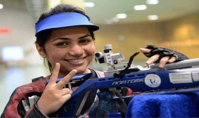 Apurvi Cliches Gold at ISSF World Cup