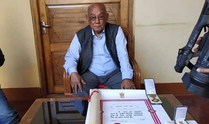 File pic of Manipuri filmmaker Aribam Shyam Sharma