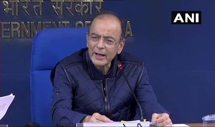 Union Finance Minister Arun Jaitley