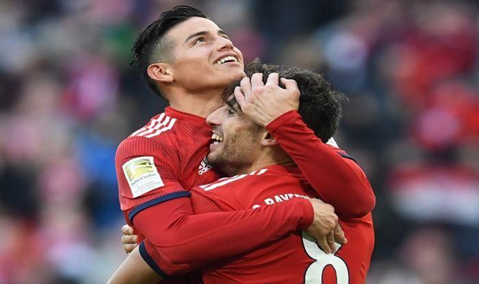 Bayern Munich's James Rodriguez-picture credits-Bundesliga media