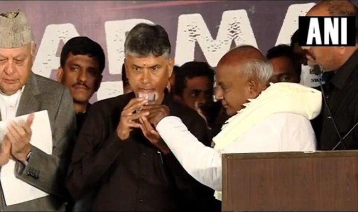 CM Naidu Ends His Fast