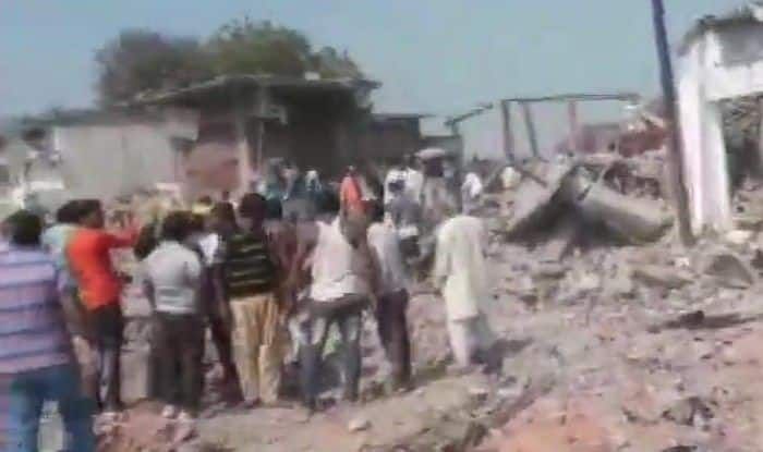 10 people dead after an explosion in a two-storey building