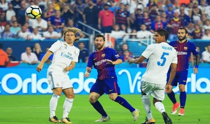 El Clasico Real Madrid vs Barcelona_picture credits-twitter