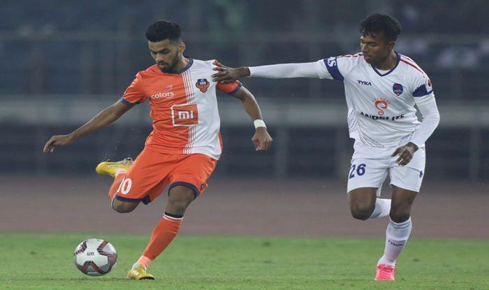 FC Goa vs Delhi Dynamos_picture credits-FC Goa official twitter-ISL media