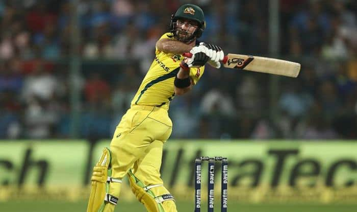 Glenn Maxwell in action