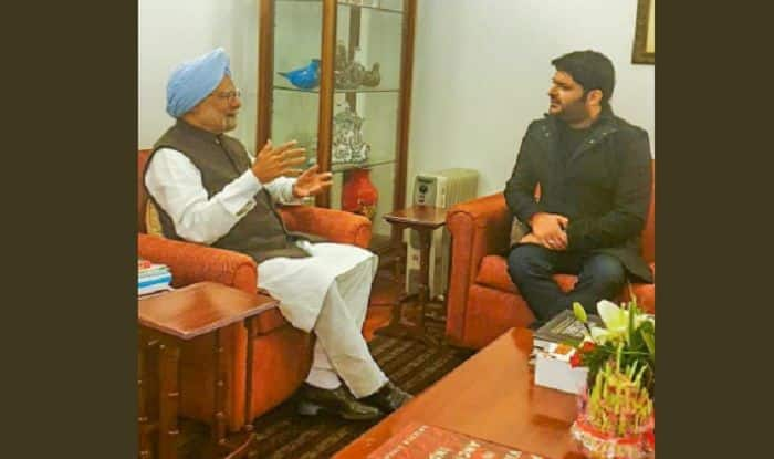 Kapil Sharma Meets Former Prime Minister Manmohan Singh, Wife Gursharan Kaur