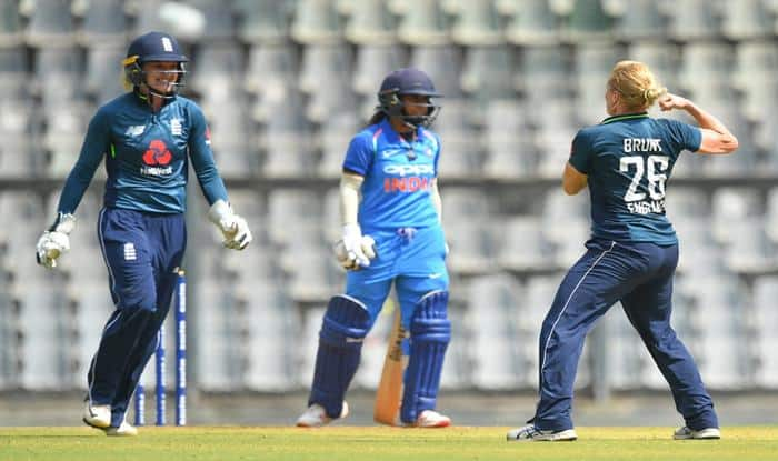 3rd ODI: England Women Register Consolation Win, Avoid Whitewash Against Mithali Raj-Led India at Wankhede Stadium