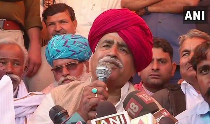 Gujjar Quota Agitation in Rajasthan Called Off; Kirori Singh Bainsla Says Decision Taken 'in Interest of Nation'