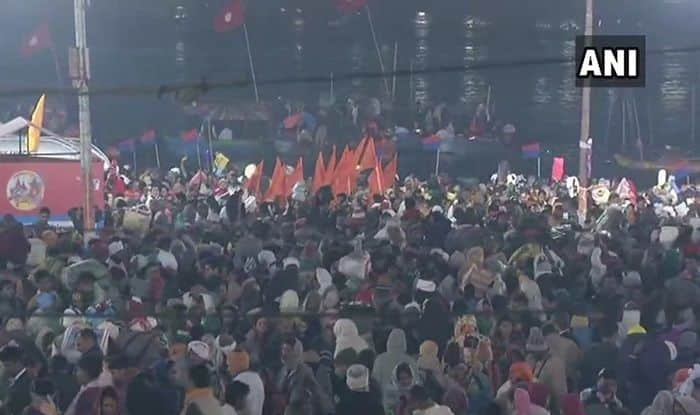 Kumbh Mela 2019: Shahi Snan Today; Over Two Crore Expected to Take Holy Dip in Sangam on Basant Panchami