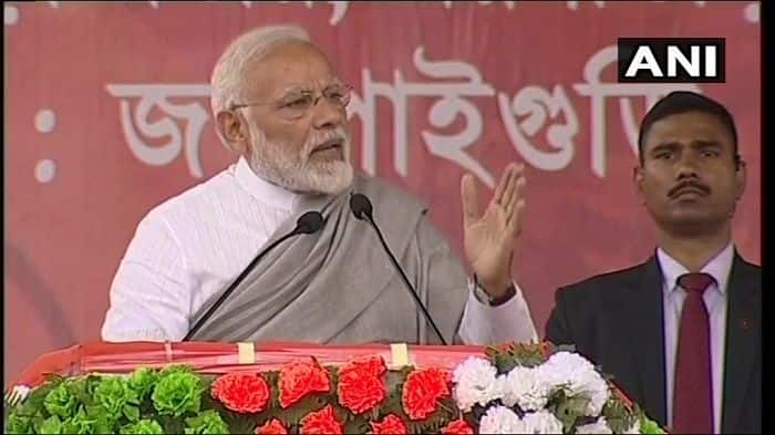 Modi in Jalpaiguri News Updates: 'Didi Wants to Become PM, Leaving Poor at Mercy of Alliance'
