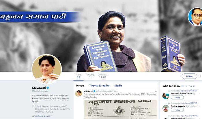 Mayawati on Twitter
