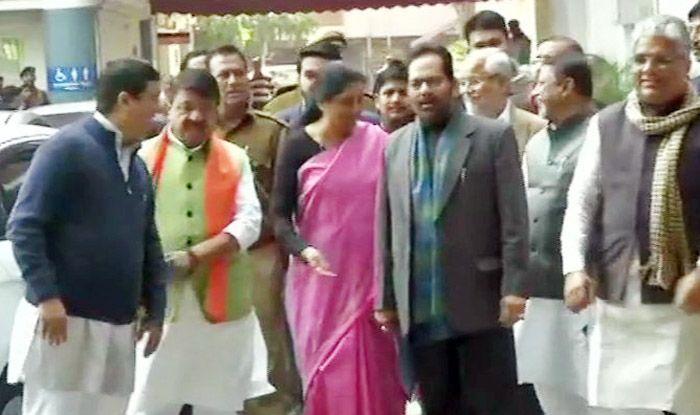 BJP Delegation Meets EC Over West Bengal Crisis, Seeks Deployment of Central Forces During Lok Sabha Elections