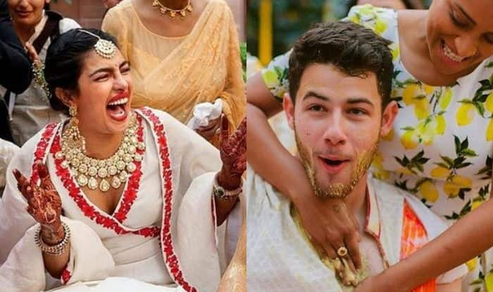 Priyanka Chopra, Nick Jonas and Lilly Singh