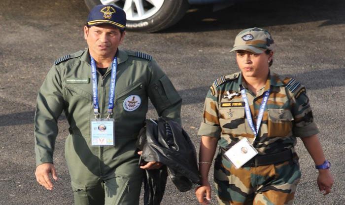 Sachin Tendulkar or Tom Cruise? Tendulkar Admires Prowess of Indian Air Force During Vayu Shakti 2019 Event in Pokhran | SEE PIC