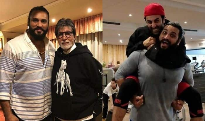 Saurav Gurjar with Amitabh Bachchan and Ranbir Kapoor