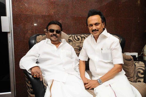 Vijakanth-led DMDK Hot Pick in Tamil Nadu This Election Season as AIADMK-BJP, DMK Race to Stitch Alliance