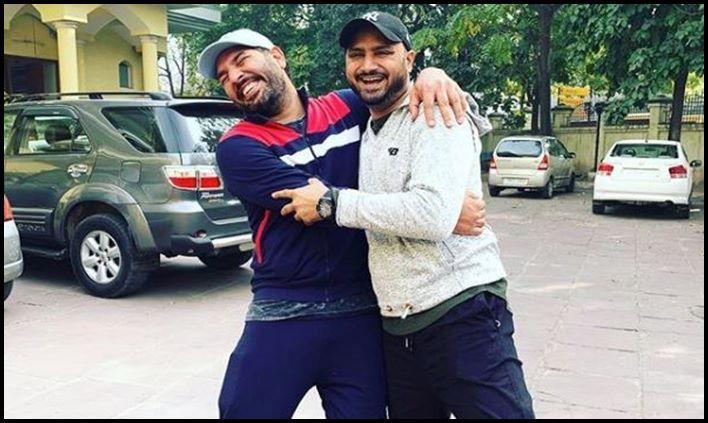 Yuvraj Singh and Harbhajan Singh_Picture credits-Harbhaja nOfficial Insta handle