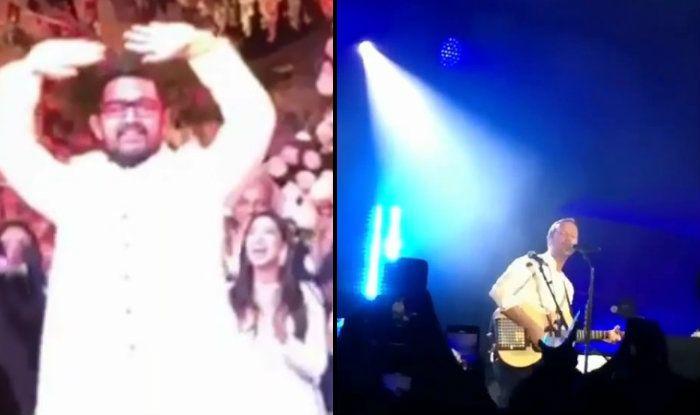 Akash Ambani-Shloka Mehta's Sangeet Videos: Aamir Khan Dances to 'Khandala', Coldplay And The Chainsmokers Perform