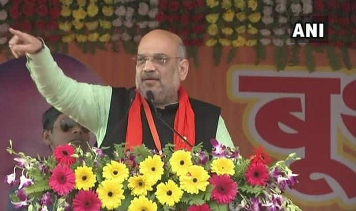 Lok Sabha Elections 2019: 'Public Rallying Behind PM Modi,' Says BJP Chief Amit Shah at Launch of 'Mera Parivar, Bhajapa Parivar' Campaign
