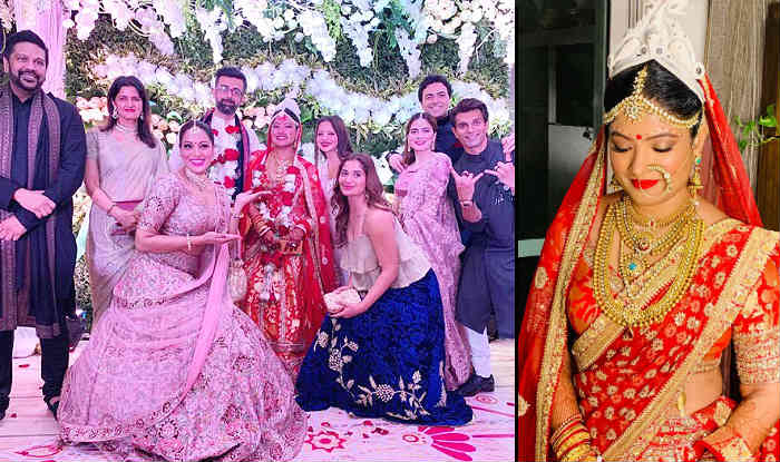 Bipasha Basu's Sister Vijayeta Basu Wedding Pics: Actress' 'Gudiya' Hitched to Beau Karan Talreja in Bengali Marriage