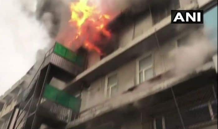 Major Fire Breaks Out at Residential Building in Sangam Vihar; No Casualties Reported