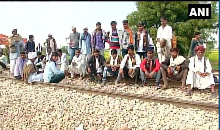 Gujjar Quota Stir in Rajasthan Enters Day 4: Train Services Remain Affected; Government Invites Bainsla For Dialogue