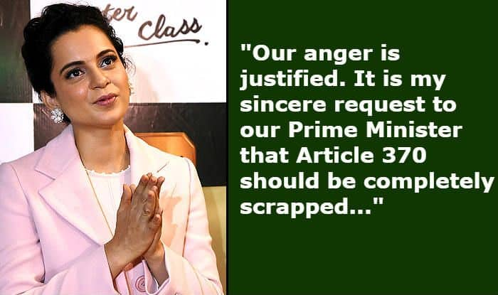 Kangana Ranaut Urges PM Modi to 'Scrap Article 370' After Pulwama Attacks; Here's What it Means For India And J&K