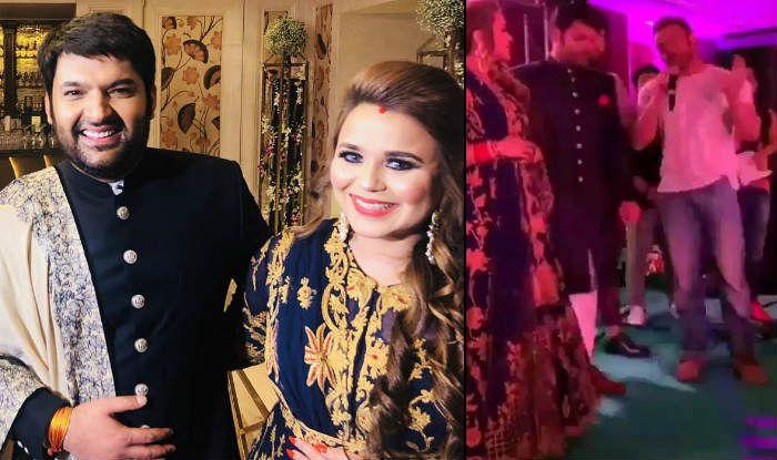 Kapil Sharma-Sohail Khan Dance Crazily at Comedian's Wedding Reception in Delhi; Inside Videos-Pics From Kapil-Ginni's Party