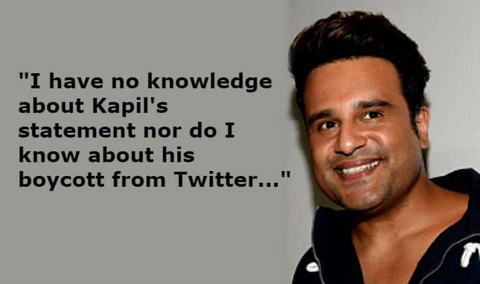 Kapil Sharma-Navjot Singh Sidhu Pulwama Attack Controversy: Krushna Abhishek Refuses to Comment Without Consulting The Channel