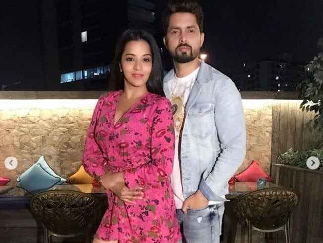 Bhojpuri Hot And Sexy Actress Monalisa Celebrates Valentine's Day With Husband Vikrant Singh Rajpoot  – See Drool-Worthy Pics
