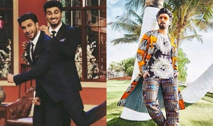 Arjun Kapoor's Hilarious Comment on Ranveer Singh's Picture Proves he is The King of Humour
