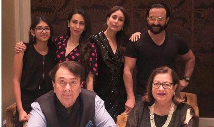 Kareena Kapoor Khan, Karisma Kapoor And Saif Ali Khan Celebrate Randhir Kapoor's Birthday, See Pics
