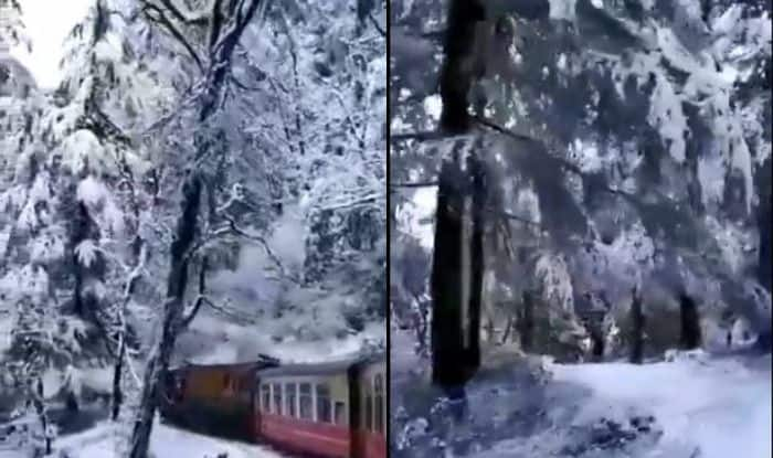 Kalka-Shimla Toy Train Ride After Snowfall Feels Like Meandering Through Narnia Lands