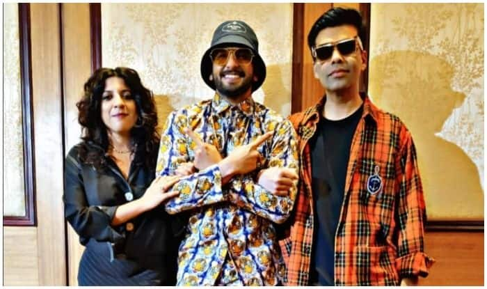 Karan Johar Compares Alia Bhatt's Outfit to Cassata Ice Cream, Comments on Ranveer Singh's Tiger Outfit at Gully Boy Promotions
