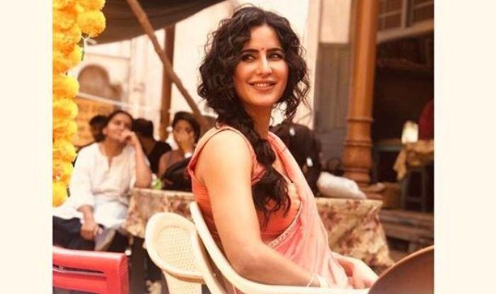 Katrina Kaif on the sets of Bharat