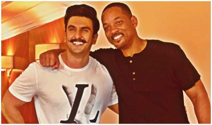 Ranveer Singh and Will Smith