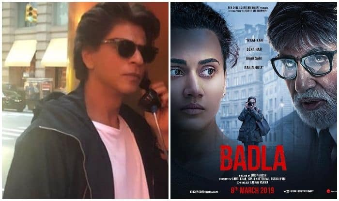 Sujoy Ghosh Hints at Shah Rukh Khan Featuring in Amitabh Bachchan-Taapsee Pannu Starrer Badla, Movie to Release on March 8