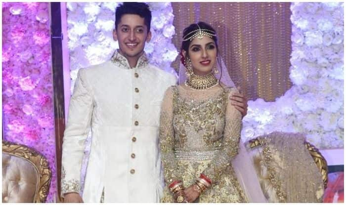 Salman Khan, Rekha, Sonakshi Sinha And Other Bollywood Celebrities Dazzle at Azhar Morani-Tanya Seth's Wedding Reception